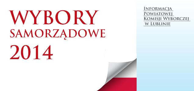Informacja Powiatowej Komisji Wyborczej w Lublinie