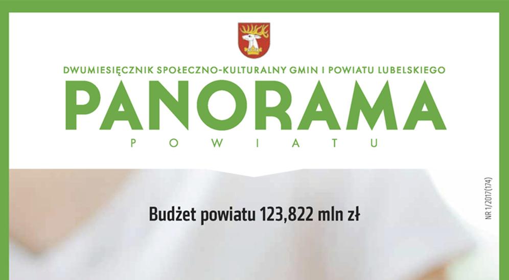 Panorama Powiatu 1/2017