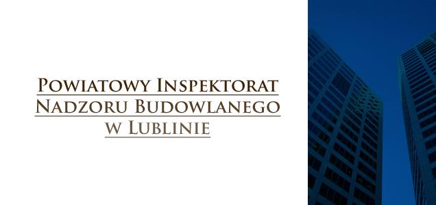 Powiatowy Inspektorat Nadzoru Budowlanego w Lublinie
