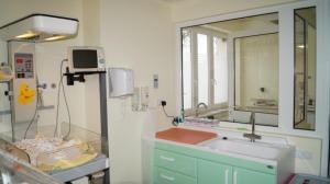 Zmodernizowane oddziały szpitala - neonatologiczny i położniczy.