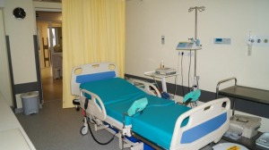 Zmodernizowany oddział położniczy – sala porodowa.